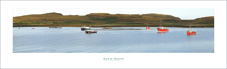 Early morning Light - Fishing Boats on Caolas Eilean Ristol - Isle Ristol - PAN046