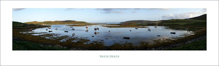 First Light on Old Dorney Bay - Coigach - North West Highlands - Scotland - PAN047