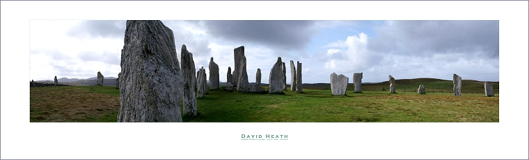 Standing Stones of Calanais - Isle of Lewis - Scotland - PAN051